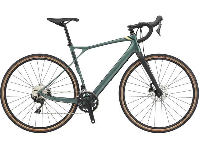 GT Bicycles Grade Carbon Expert Men satin jade/black/moss/black